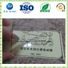 Private Glossy Transparent Clear PVC Die Cut Logo Shape Individually Sticker Label (JP-S237)