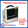 Pm5000 Portable Patient Monitor with SpO2, NIBP, ECG & Temp