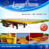 40 Feet Hight Quality 3-Axles Container Flatbed Semi Trailer