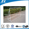 White Color Powder Coated Soccer Goal