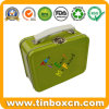 Handle Lunch Tin Box, Metal Food Tin Container, Gift Tin