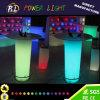 Bar Furniture Illuminated LED Cylinder Table
