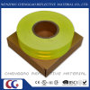Hi-Vis Saturn Yellow Fluorescent Retro Reflective Adhesive Tape (C5700-OF)