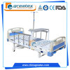 Adjustable Multi-Fuction Manual 2 Cranks Hospital Bed Medical Nursing Home Care Equipment Furniture