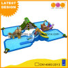 Giant Water Pool Twisted Water Slide Inflatable for Summer (AQ01778-2)