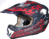 High Quality Red Helmet for Motorcycle Parts