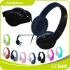Black Colorful Customized Logo Perfect Sound Effect Music Headphone