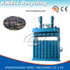 Manual Valve Doubler Cylinder Compress Vertical Dedicated Tire Baler