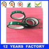 Width: 50mm Thickness: 0.06mm Length: 33m High Temperature Green Pet Film Based Silicone Polyester Tape