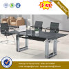 China Glossy Office Table Stock Office Furniture (NS-GD052)
