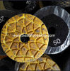 Diamond Resin Metal Floor Polishing Pad for Concrete
