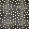 10*10mm Gloden Glass Mosaic for Kitchen Backsplash Decoration