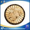 U. S. Marine Corps Souvenir Challenge Misty Gold Medal (Ele-C200)