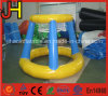 Mini Blue Inflatable Basketball Hoop for Kids Shooting