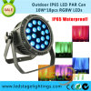 New Wedding Decoration LED PAR Light RGBW 18PCS*10W for Outdoor Stage Light