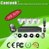 Digital Camera with Low Illumination Verifocal Lens 4CH HD Camera DVR Kits (XVRD420PLF20)