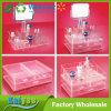 Acrylic Cosmetic Organizer Storage with Single-Side Mirror