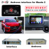 Auto HD Android Multimedia Video Interface GPS Navigator for 2014-2016 Mazda 2