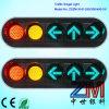12 Inch 3 Aspects LED Arrow Traffic Lights / Vehicle Traffic Light