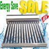 Compact Low Pressure Vacuum Tube Solar Collector System Solar Hot Water Heater