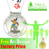 3D Zinc Alloy Die Casting Washington Promotional Gift Medal Award