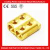 Single / Double Wiring Hole Brass Connector Cable Connector (MLIE-BTL028)