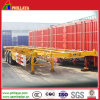 2 Axles 20feet Container Transporting Skeleton Semi Trailer