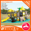 Free Design Plastic Slide Outdoor Playground Equipment in Guangzhou