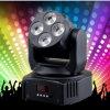 Wedding Decoration Rgbaw UV Moving Head Wash Disco DJ Light