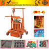 Qmr2-45 Manual mobile Cement Hollow Block Machine Brick Machine for Sale