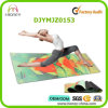 Custom Printed Yoga Mat, Eco-Friendly Natural Rubber with Luxury Microfiber Surface, Wet Grip, Easy Care