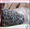 Welded Steel Link Chain + Plastic Wheels