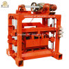 Hand Operated Concrete Block Making Machine Qt4-40 Manual Brick Making Machine in Kenya
