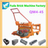 Qm4-45 Diesel Mobile Brick Machine for Concrete Hollow Solid Block