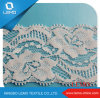 Embroidered Tricot Lace Trim with Elastic