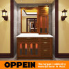 Oppein Classic Chinese Red Alder Wood Bathroom Cabinets (OP15-053B)