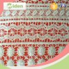 Firm and Nice Packing Embroidery Geometric Pattern Chemical Lace Fabric