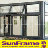 Luxury Aluminium Casement and Top Hung Window Wall System