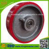 Heavy Duty Polyurethane Mold on Cast Iron Center Wheel