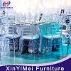 Transparent Clear Know Down Plastic Wedding Resin Chiavari Chair