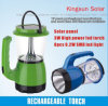 Rechargeable Battery Power Source and Emergency Usage Solar Lantern