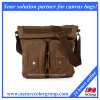 High Quality 100% Genuine Leather Male Messenger Bag (MSB-029)