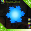 Green Red Blue Yellow White Changing PE Plastic Snow LED Light