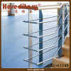 Metal Steel Plate Balustrade Rod Railing Design for Interior Stairs (SJ-H1348)