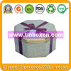 Octagonal Metal Gift Box for Chocolate Candy, Gift Tin Box