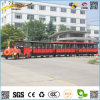 Hot Sale Green Electric Sightseeing Train Fashion Locomotive Cheap Car