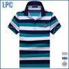 Mens Fashion Brands Short Sleeve Striped Polo Shirt