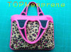 Leopard Grain Pattern Neoprene Sleeve Laptop Bag with Handle