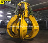 Electric Hydraulic Multiple Tine Rock Grabs