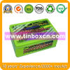 Metal Rectangular Container for Gift, Promotional Tin Box